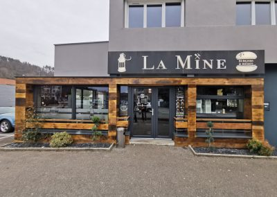 La mine burger magasin